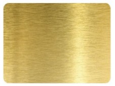 A41 Golden Bushed Aluminium Composite Sheet Supplier